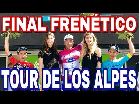 Etapa 5 Tour De Los Alpes   Pinot Se Lleva La Clasificación General
