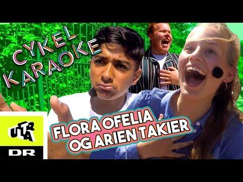 Cykel Karaoke med Flora Ofelia og Arien Takier fra Landet af Glas   Ultra