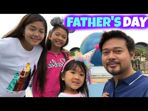 FATHER'S DAY 2018 with KAYCEE & RACHEL