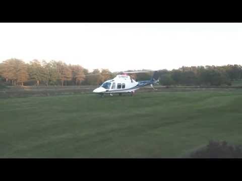 Augusta Westland 109 Grand - Start Up and Take off