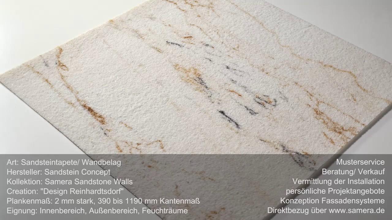 Flexibler Sandstein Reinhardtsdorf Als Sandsteintapete