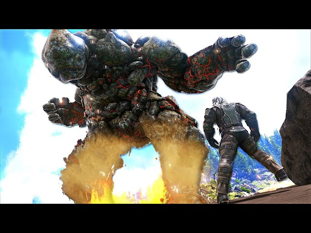 You wont Believe the GOD TIER LOOT this LAVA ELEMENTAL was Hiding!   ARK O-MEGA Modded #58