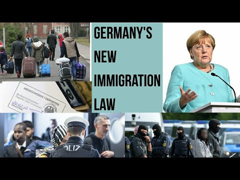 GERMAN  NEW LAW FOR IMMIGRANTS 2021  /GERMAN DÉP0RTATION RULES /EUROPE IMMIGRANTS   MUST WATCH