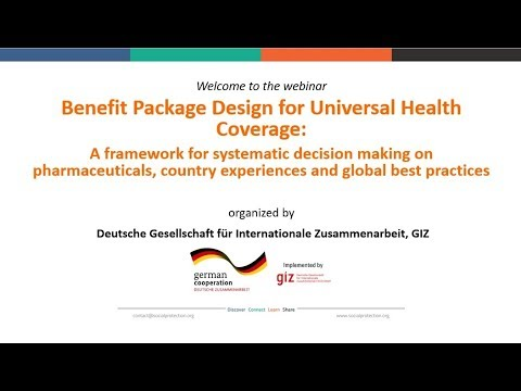 Benefit Package Design for Universal Health Coverage