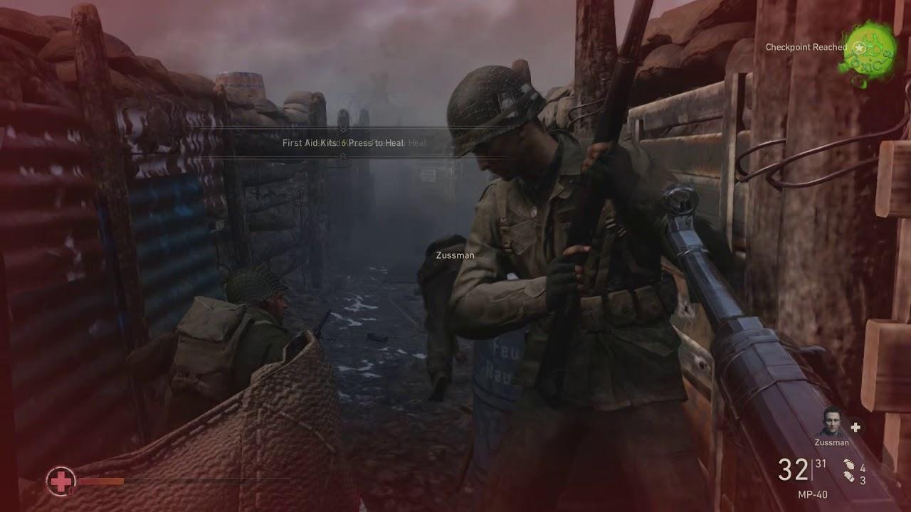 CALL OF DUTY WW2 Walkthrough Gameplay Part 1 - Normandy  1080p@60FPS