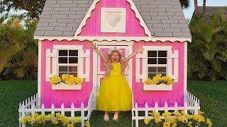 Diana y una Nuva Casa de Juegos, Hermoso Juguete para Niñas