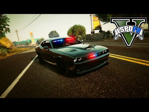 GTA 5 LSPDFR Police Mod - Check out this HELLCAT Bros!