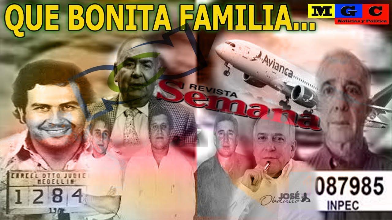 """ORIGEN DE LOS """"PARAS""""// RELACIÓN N@RC0-PARA-FAMILIAR DE LOS URIBE-OCHOA-ESCOBAR-LONDOÑO WHITE"""