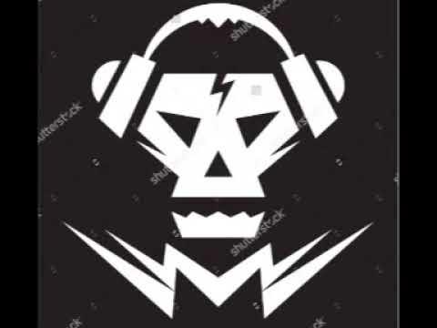 Skull Music Vector DJ Logo Sign Template