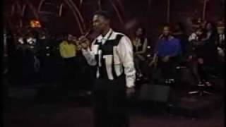 Luther Vandross sings  - Never Too Much  live