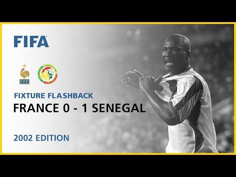 France 0-1 Senegal | Korea/Japan 2002 | Fixture Flashback