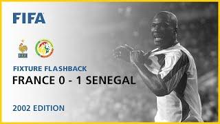 France 0-1 Senegal | Korea/Japan 2002 | FIFA World Cup