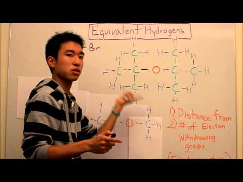NMR Made Easy! Part 2A - Equivalent Hydrogens - Organic Chemistry
