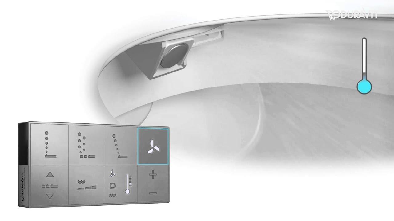 sensowash c handhabung und funktionen handling and functions youtube. Black Bedroom Furniture Sets. Home Design Ideas