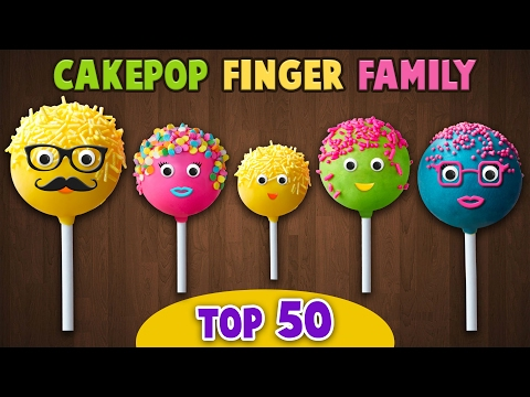 Cake Pop Finger Family Collection | Top 50 Finger Family Songs