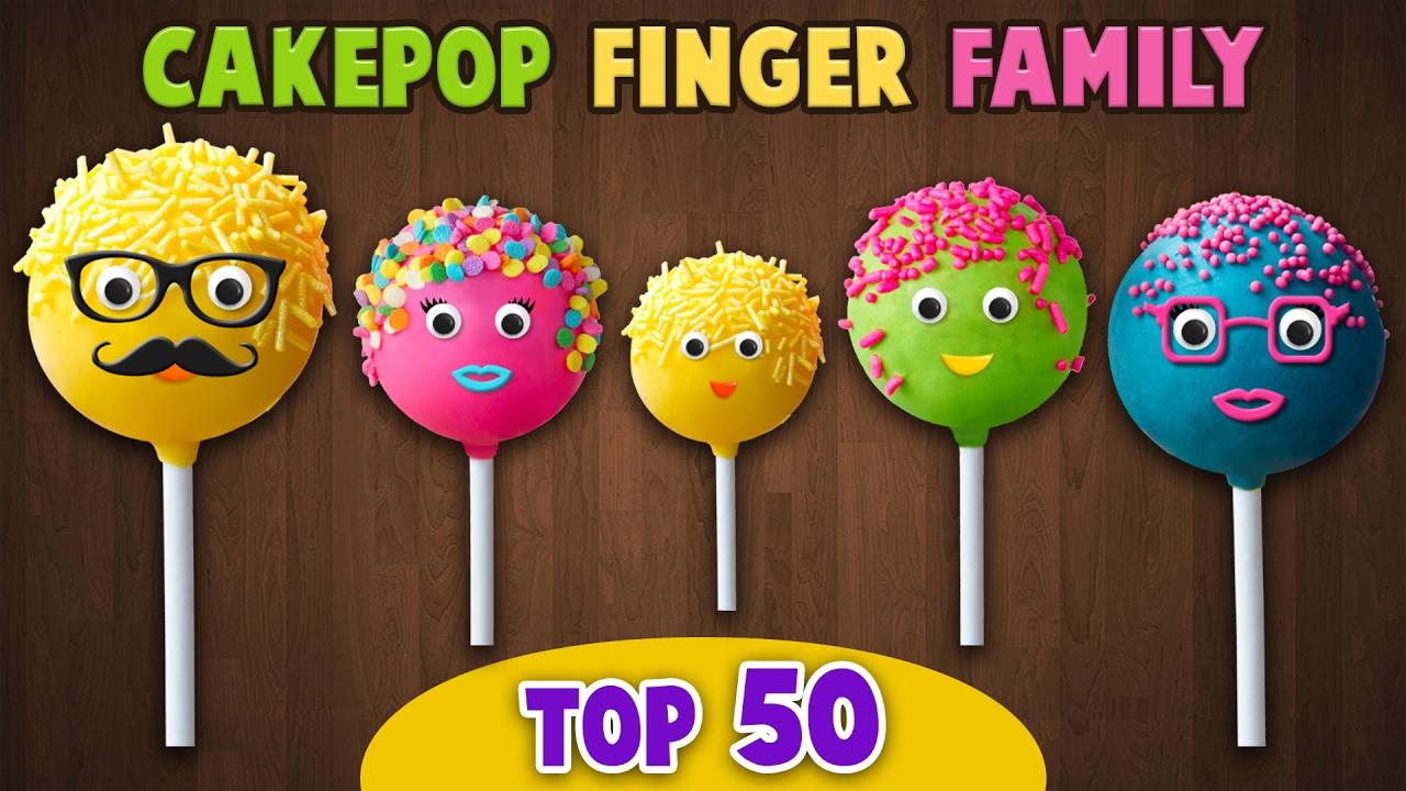 Finger family collection 7 finger family songs - Cake Pop Finger Family Collection Top 50 Finger Family Songs Youtube
