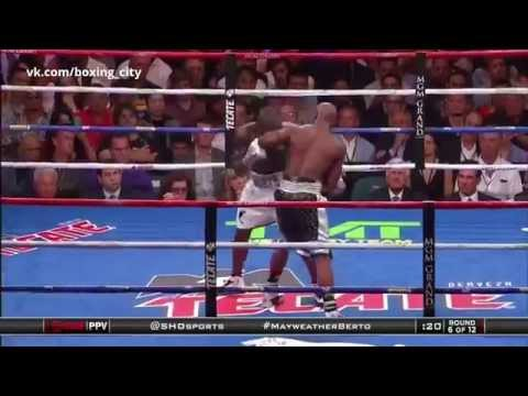 Mayweather vs Berto Highlights.  . Best moments. 2015.09.12