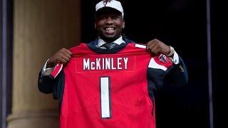 Atlanta Falcons Draft Summary || Takk McKinley (R1,P26)