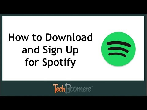 How to Download and Sign Up for the Spotify App (2018)