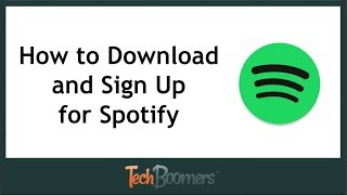 Gambar cover How to Download and Sign Up for the Spotify App (2018)