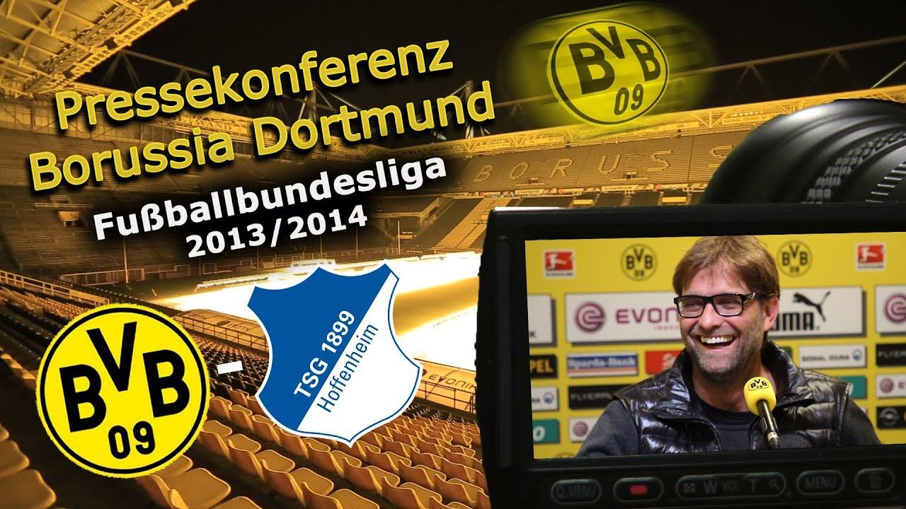 BVB Pressekonferenz vom 01. Mai 2014 vor dem Spiel Borussia Dortmund gegen die TSG 1899 Hoffenheim