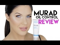 MURAD OIL CONTROL MATTIFIER | FIRST IMPRESSIONS & REVIEW!! | DOES IT WORK?!