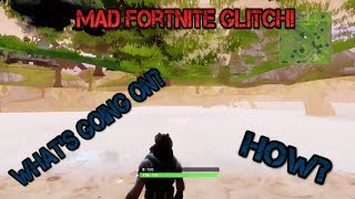 Funny Out Of The Map Fortnite Glitch
