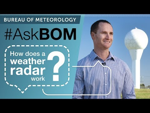AskBOM: How does a weather radar work?
