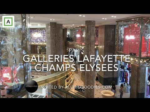 Galleries Lafayette - New Concept Store On Champs Elysees, Paris | Allthegoodies.com