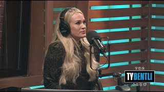 Download Carrie Underwood Is Overcome with Emotion When Hearing Miranda Lambert's Praise - The Ty Bentli Show Mp3 and Videos
