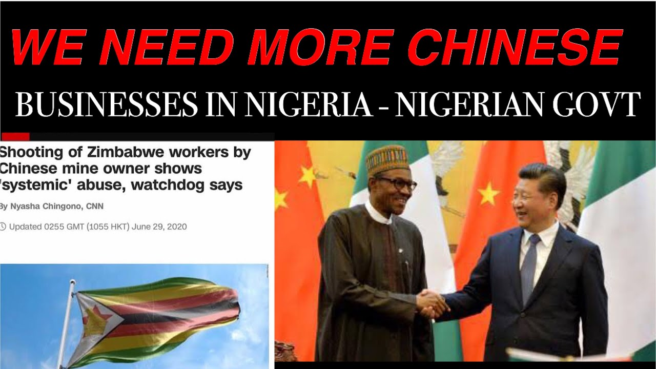 CHINESE MINER SH@@TS ZIMBABWEAN EMPLOYEE | NIGERIA NEEDS MORE CHINESE BUSINESS -FG AS NIGERIANS CRY