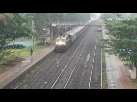 COVID 19 SPECIAL : 06346 Thiruvananthapuram Mumbai (LTT) Netravati Express Arrival+Departure : KR