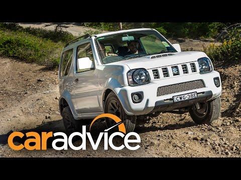 Suzuki Jimny Sierra Off-road Quick Review