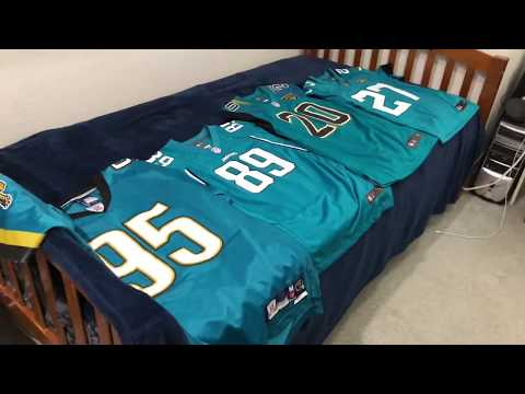 Jaguars Teal Uniforms Over The Years