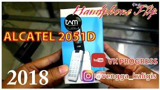 Alcatel 2051D Indonesia Garansi Resmi TAM - Unboxing dan Hands on