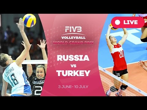 Russia v Turkey - Group 1: 2016 FIVB Volleyball World Grand Prix