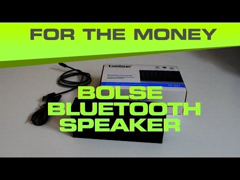 Bolse Bluetooth Speaker Review / Unboxing - Best Option Under $50 for the money in 2014?