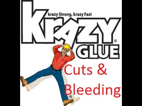 Krazy Glue First Aid For Cuts - How To Outdoor Survival