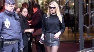 Victoria s Secret Angel Lily Donaldson, Joan Smalls, Devon Windsor and more in Paris.