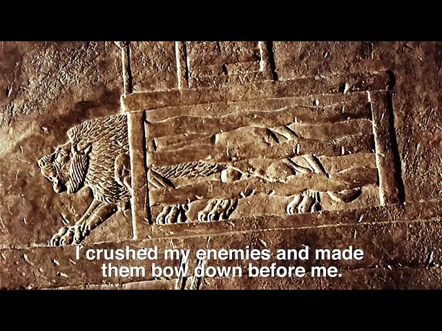 I am Ashurbanipal, The British Museum. VO by Atilla Akinci, Soho Voices