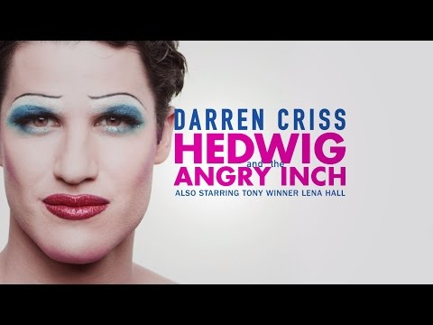 See Darren Criss & Lena Hall in Hedwig and the Angry Inch in San Francisco Oct 2–30, 2016