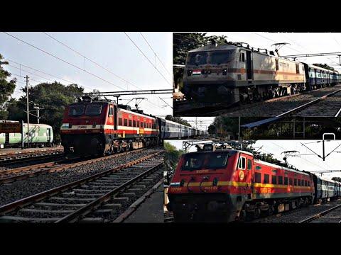 Electrified Passenger Services Towards Katni,Satna - Afternoon Rush - Indian-Railways.
