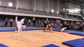 28-29 марта 2014 г.Чемпионат Украины по сумо г.Артемовск