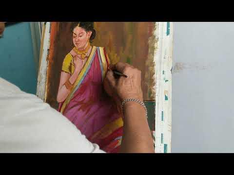 Feminine oil painting ( part 3 ) ENJOY