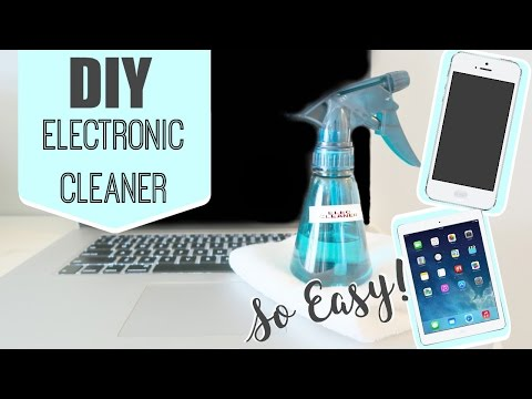 Quick Tip | DIY 2 Ingredient Easy & Cheap Electronic Cleaner