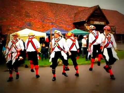 Morris dancing traditional medieval English folk-dance 2.MOV