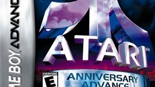 CGRundertow ATARI ANNIVERSARY ADVANCE for Game Boy Advance Video Game Review