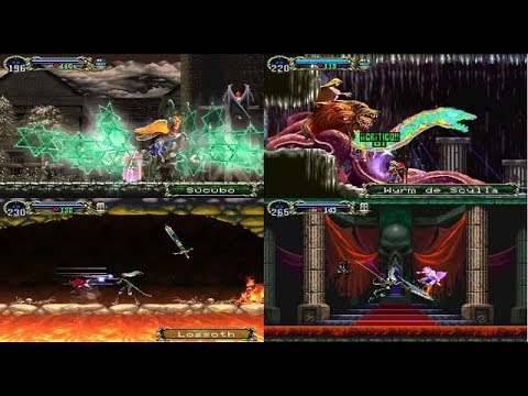Castlevania Symphony of the Night: PSP - Walkthrough to 99.5%_Bad Ending (mdx)