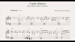 Vande Matram Sheet Music Notations From MusicHorizon