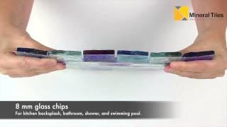 Iridescent Glass Pool Tile Ocean Blue Blend 1x2-120KEERIPPBL4012